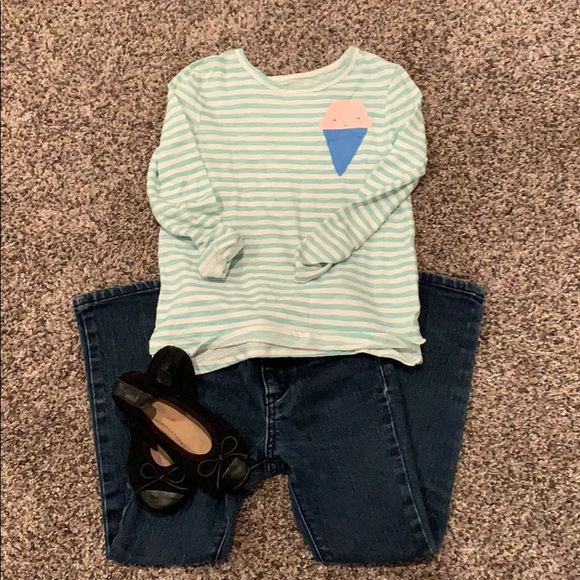 213748bab 5T girls outfit.